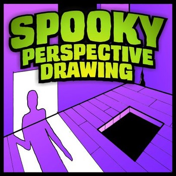 Spooky Perspective Drawing