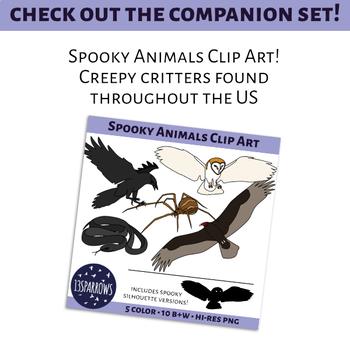 Spooky Little Brown Bat Clip Art