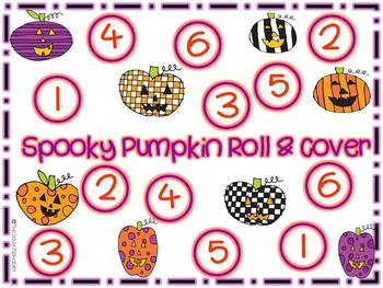 Spooky Pumpkin Roll & Cover