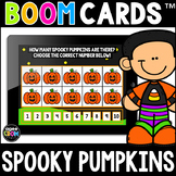 Spooky Pumpkins Math Boom Cards™ - Halloween/Fall Distance