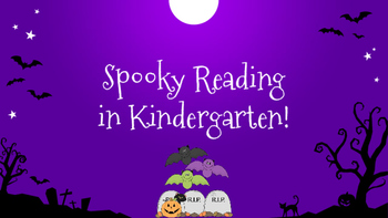 Spooky Reading for Halloween