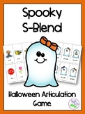 Spooky S-Blend Halloween Articulation Game