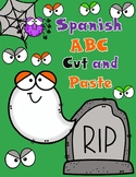 Spooky SPANISH ABC Cut and Paste