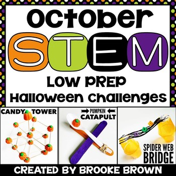 Halloween STEM Challenges (October) by Brooke Brown - Teach ...