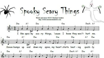 Spooky Scary Things SOUNDTRACK