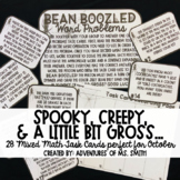 Spooky, Scary, and a little bit Gross: October Task Cards