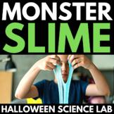 Halloween Science   Slime   Lab book   Halloween Experiment   Activity