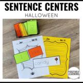 Spooky Sentence Builders