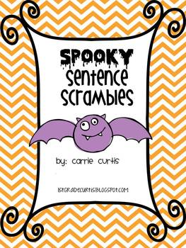 Spooky Sentence Scrambles: Workstations