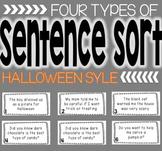 Spooky Sentence Sort
