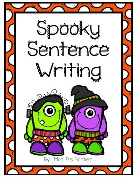 Spooky Sentence Writing