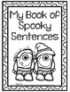 Spooky Sentence Writing
