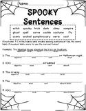 Spooky Sentences!