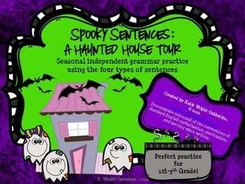 Spooky Sentences: A Haunted House Tour for the 4 Sentence Types