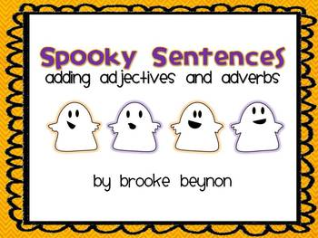 Spooky Sentences Freebie