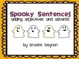 Spooky Sentences Freebie