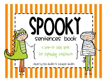 """Spooky"" Sentences [A How-To Book for Expanding Sentences]"