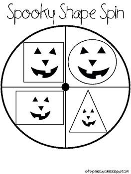 Spooky Shape Spin