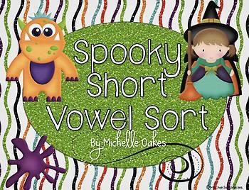 Spooky Short Vowel Sort
