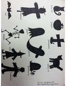 Spooky Silhouette PDF