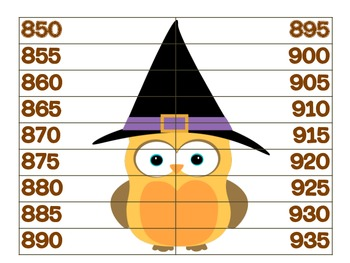 Spooky Skip Counting
