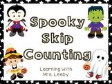 Spooky Skip Counting Freebiee