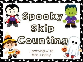 Spooky Skip Counting Freebiee