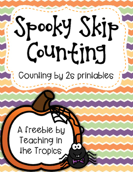 Spooky Skip Counting by Twos (Differentiated Printables)