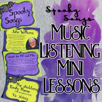 Spooky Songs Music Listening