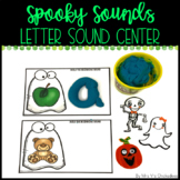 Spooky Sounds Letter Sound Center: Halloween Phonics Game