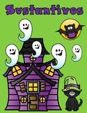 Spooky Spanish Nouns:  Sustantivos