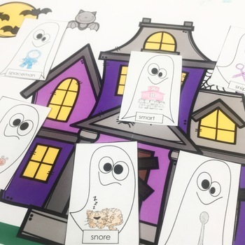 Halloween No Prep Ghost Craft for Speech Therapy