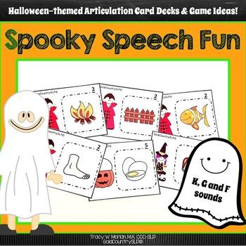 Spooky Speech Fun - K, G, F