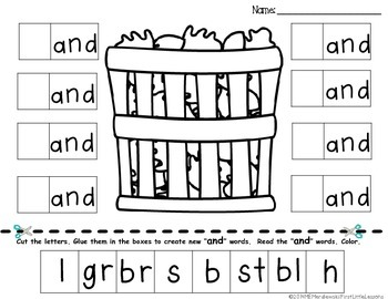 Spooky Spelling Patterns and Word Sorts