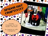Spooky Spider Hat Craftivity
