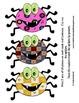 Spooky Spider Match - 1 to 1 Pattern matching - Halloween Preschool Kindergarten