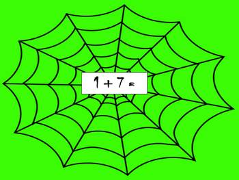 Spooky Spider Math CCSS Aligned