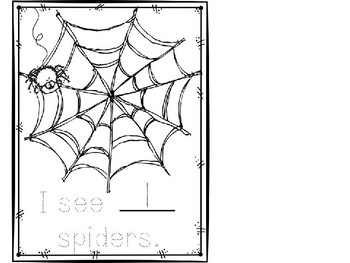 Spooky Spider Stamping