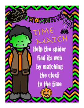 Spooky Spider Time Match