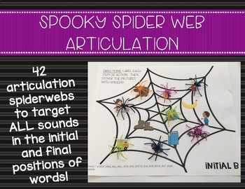 Spooky Spider Web Articulation