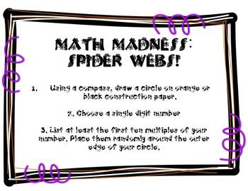 Spooky Spider Webs!