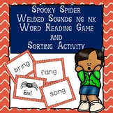 Spooky Spider Welded Sounds Word Reading Game