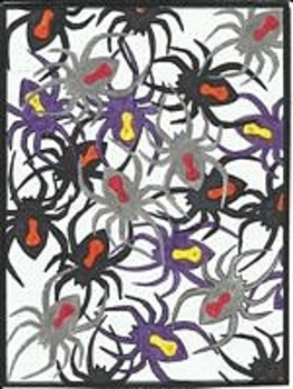 Spiders Halloween Color By Number