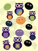 Spooky Spiders and Owls {Personal and Commercial use}
