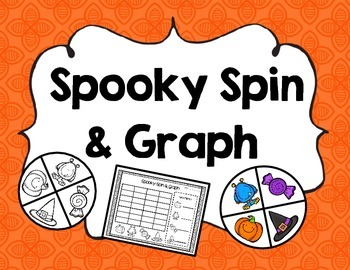 Spooky Spin and Graph {{Halloween Math Activity}}