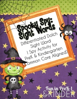 Spooky Spy: Sight Words (CC Aligned)