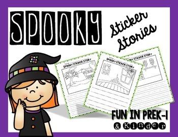 Spooky Sticker Stories