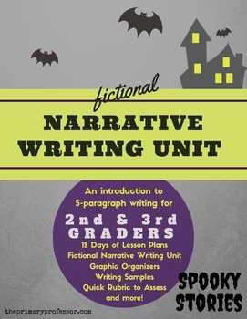 Spooky Stories - 2nd & 3rd Halloween Narrative Writing Uni