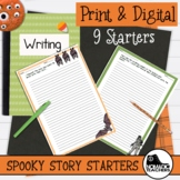 Spooky Stories - 9 Halloween Narrative Writing Prompts