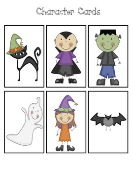 Spooky Stories - Halloween Word Problems
